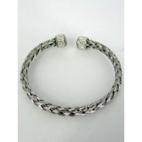 Bracelet Vintage Tréssé Argenté