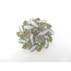Broche Vintage avec Cristal