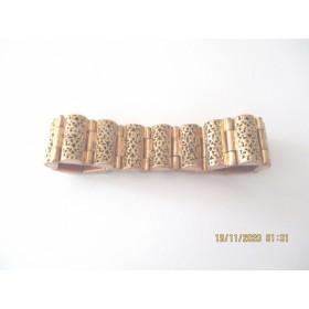 Bracelet Femme Vintage Doré à l'Or fin
