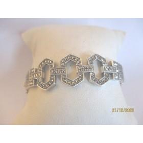 Bracelet Art Déco en Argent 925