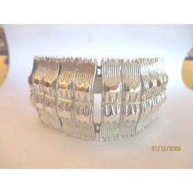 Bracelet Vintage en Rhodium