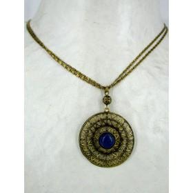 Collier Long avec Pierre en Lapis Lazuli